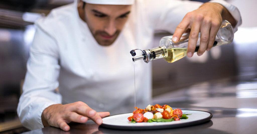 ¿Cocinar con aceite de oliva engorda?
