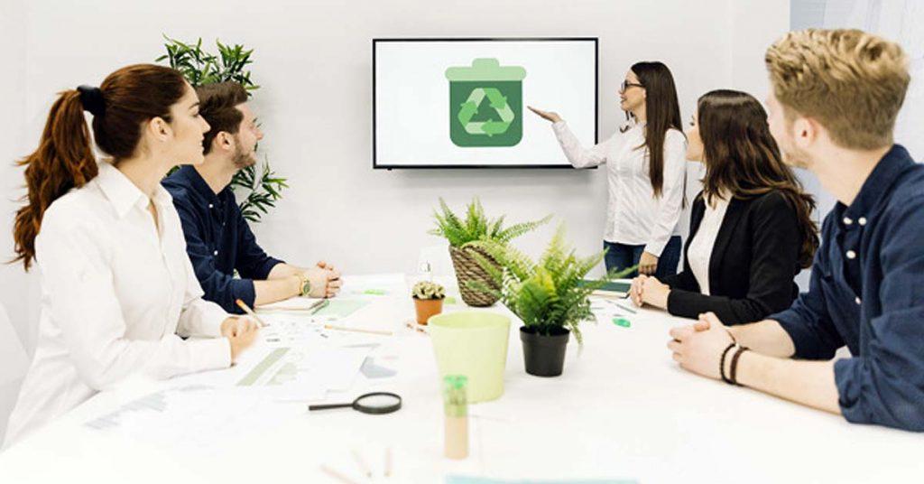 8 ideas de reciclaje en la oficina