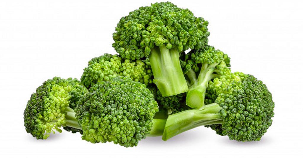 Brócoli tres quesos