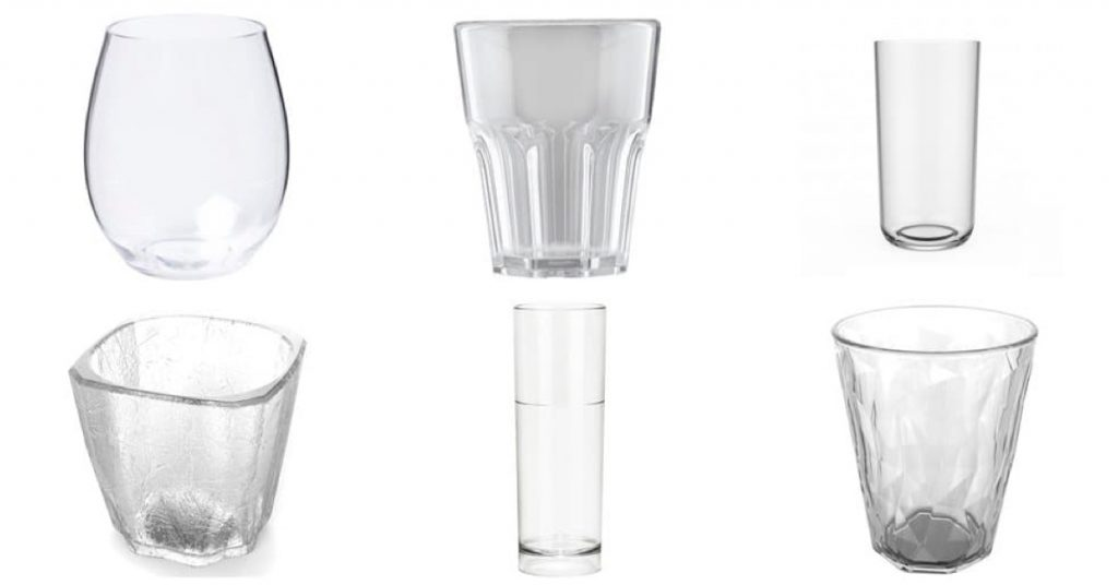 Copas para bebidas y cocteles