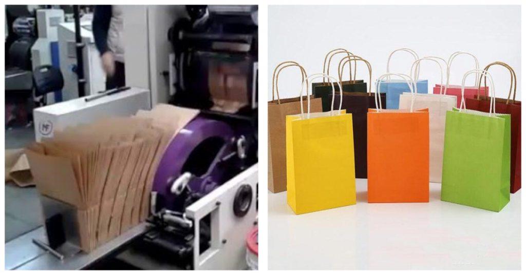 De dónde provienen las bolsas de papel ecológicas