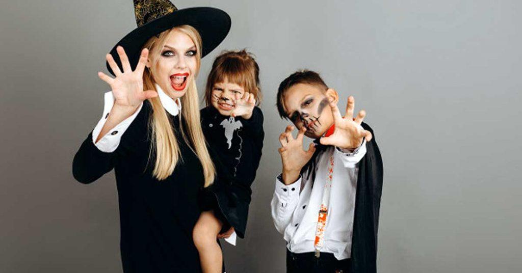 Disfraza a toda tu familia para Halloween