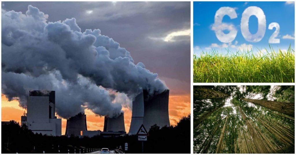 Disminuyen las emisiones de CO2