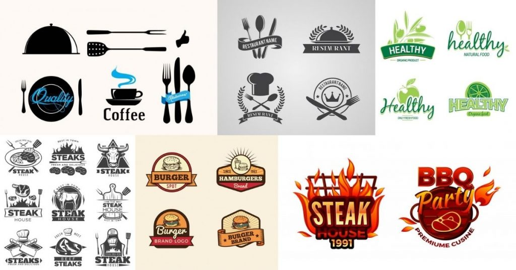 Examples of a restaurant's corporate image