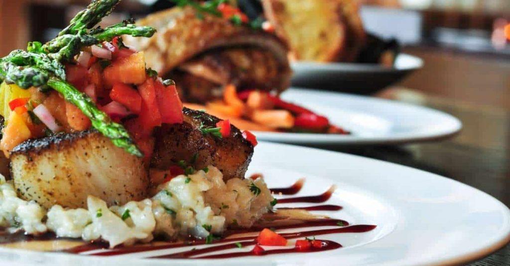 Emplatado o decoración de platos, comemos con los ojos