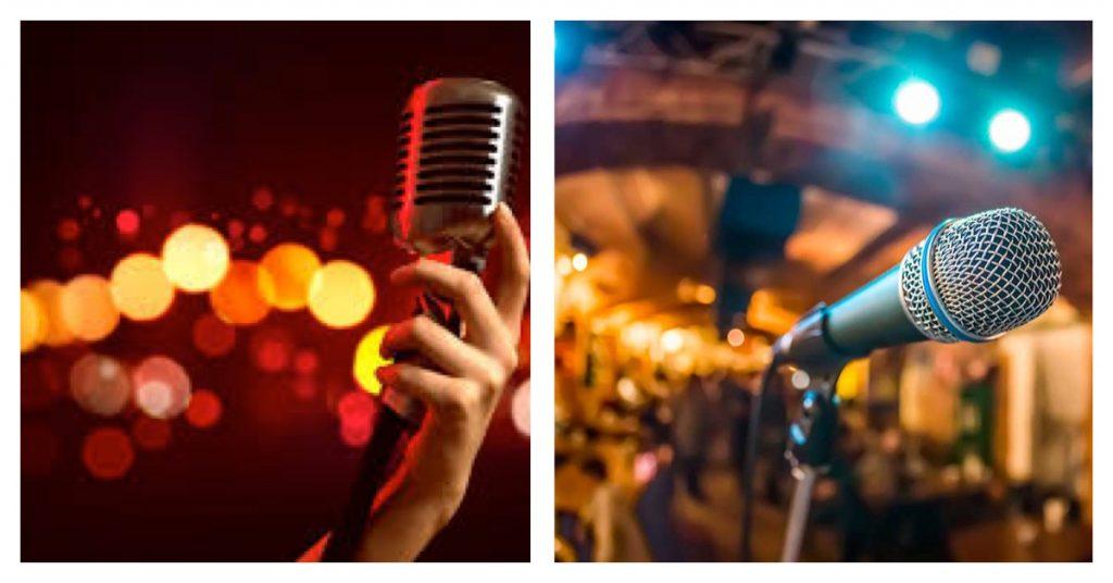 Karaoke y que todos canten al amor