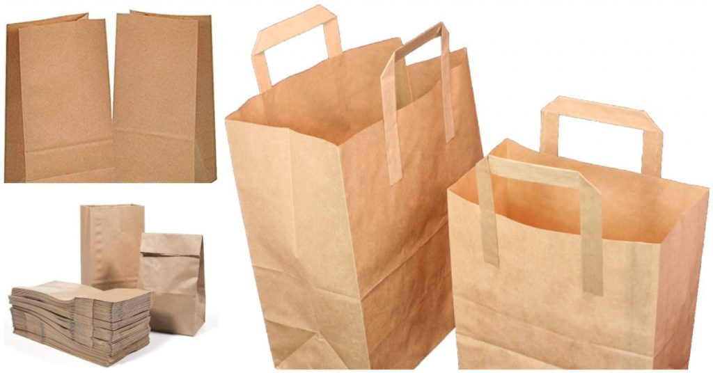 Las bolsas de papel son 100% biodegradables