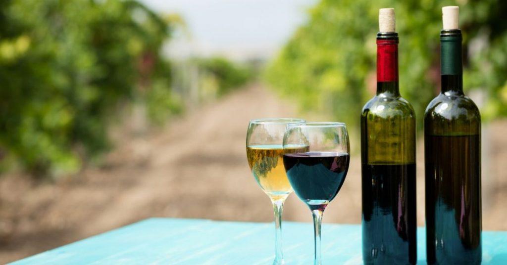 Produkty dla turystyki winiarskiej
