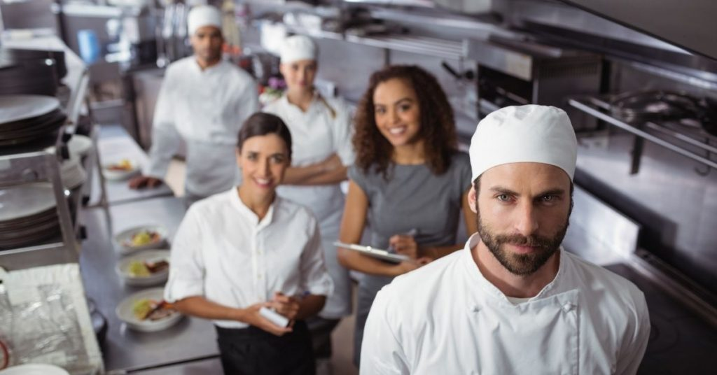 Uniforms for your entire kitchen organisation chart