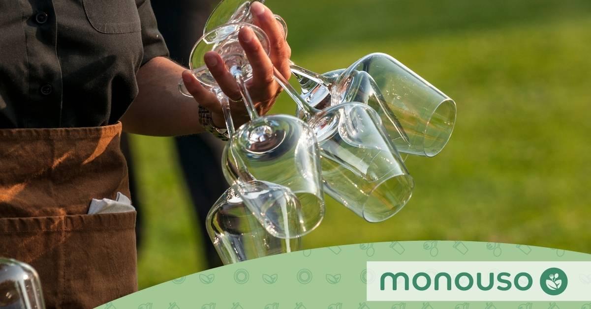 7 razones para empezar a usar copas reutilizables en tu coctelería