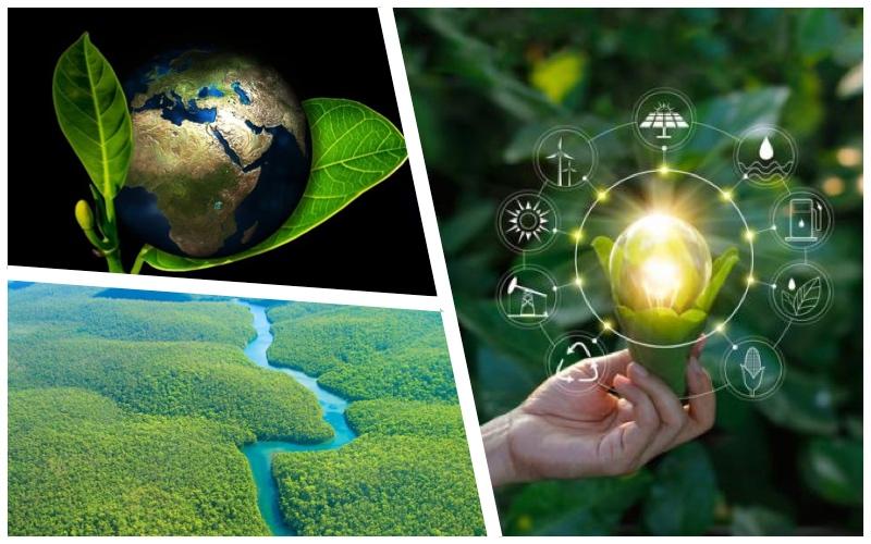 Ahorro de recursos naturales esenciales para la vida