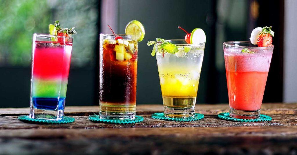 Bebidas especiales para cenar con amigos