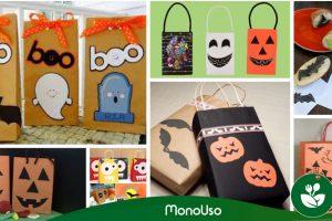 Cómo decorar bolsas para Halloween ¡8 ideas!