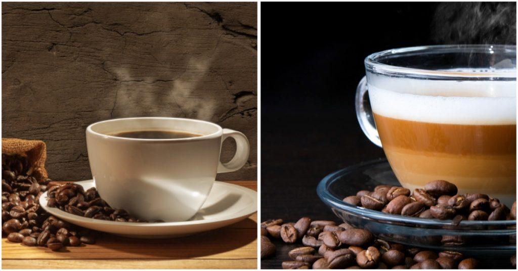 Café corto o ristreto