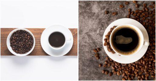 Café vienés o espresso con panna