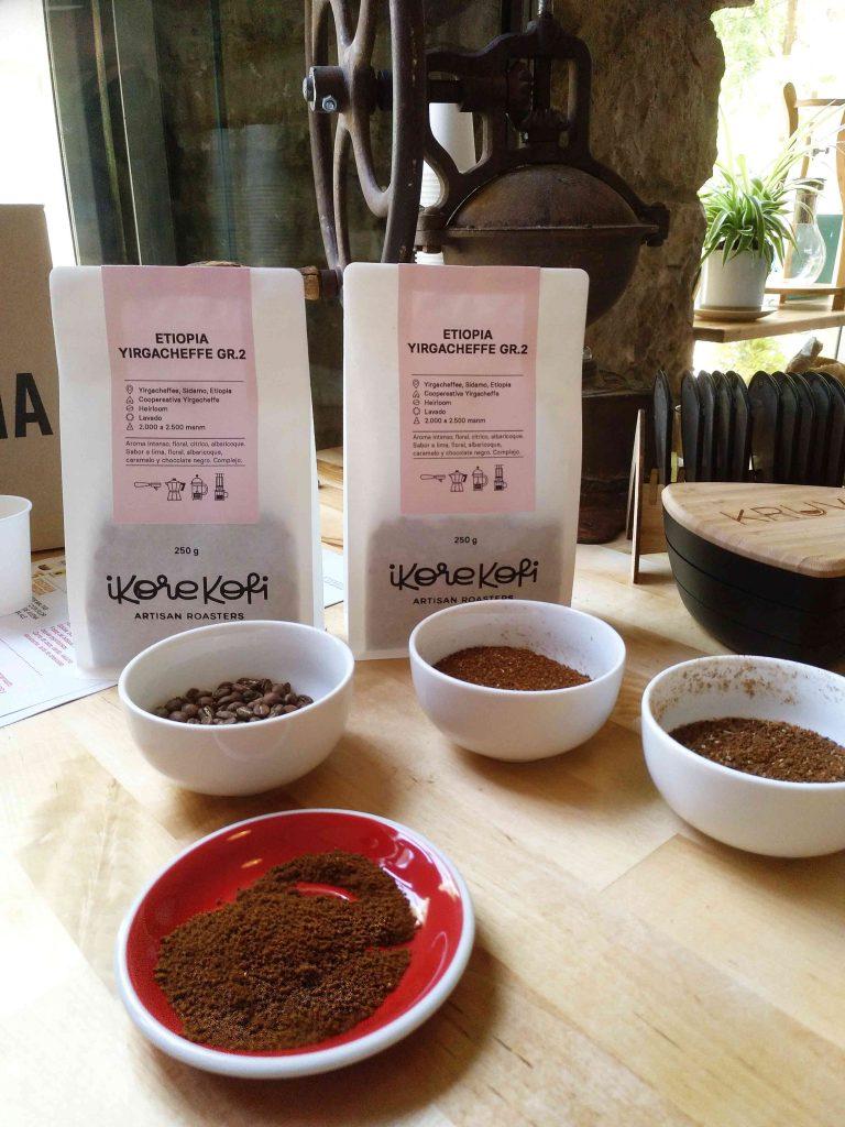 Selección de cafés especializados en Ikore Kofi