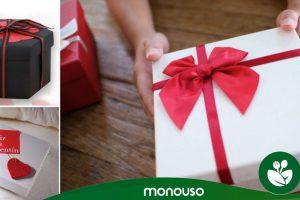 Caja de regalo para San Valentín