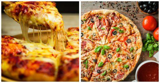 Cantidad de calorías por pizza