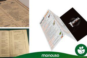 Carta restaurante: Sorprende desde el principio