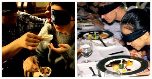 Cena a ciegas - Idea que busca sensibilizar