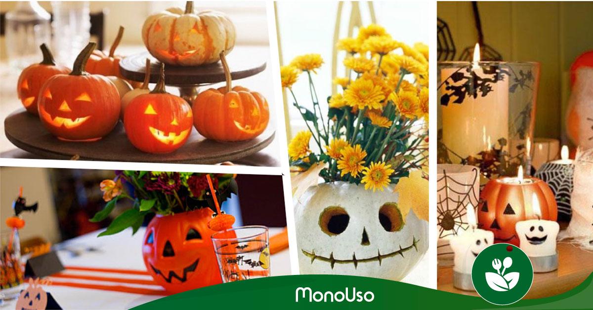 Centros de mesa para Halloween - Fáciles