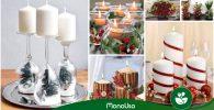 Centros de mesa para Navidad: Fácil y rápido 2019