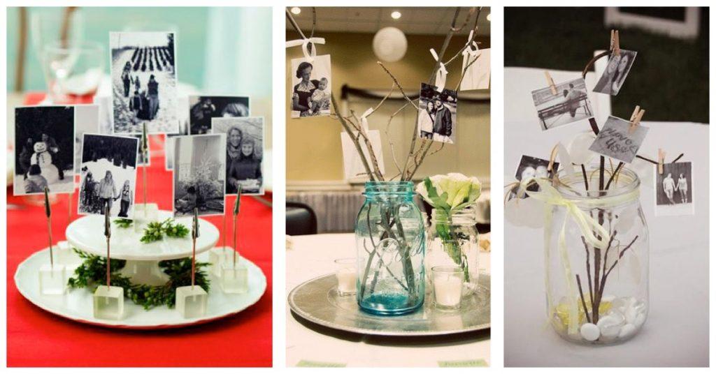 Centros de mesas con los mejores momentos del año