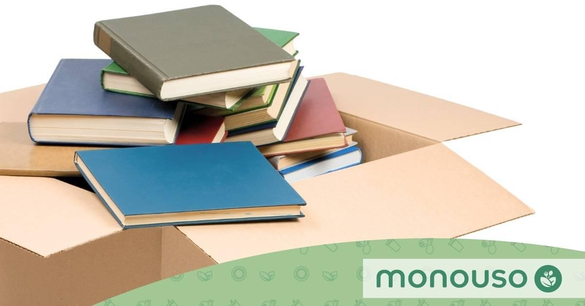 Cómo embalar libros y aprovechar toda la caja