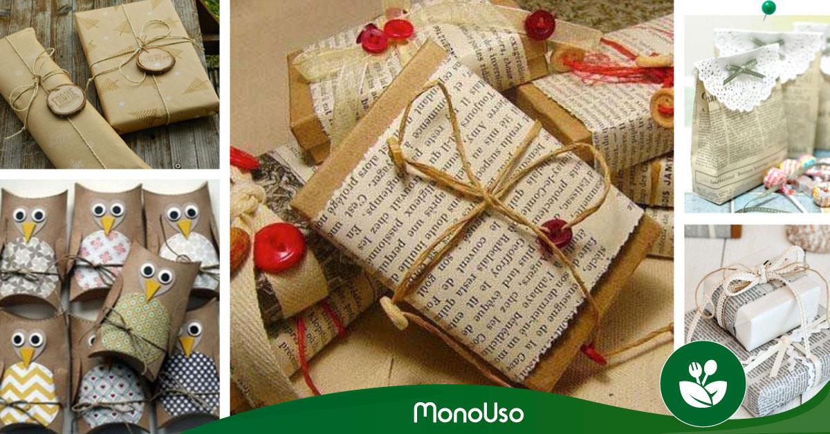 Cómo envolver regalos para Navidad