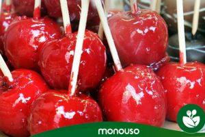 Cómo hacer manzanas de caramelo caseras