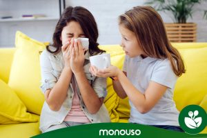 Cómo usar mascarillas desechables para alergias