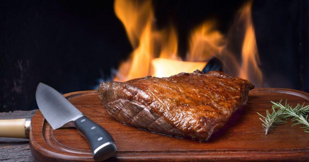 Cocina al fuego como tendencia