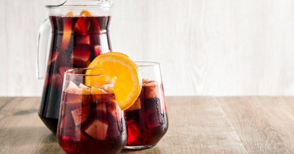 Cocteles de verano con vino o sidra