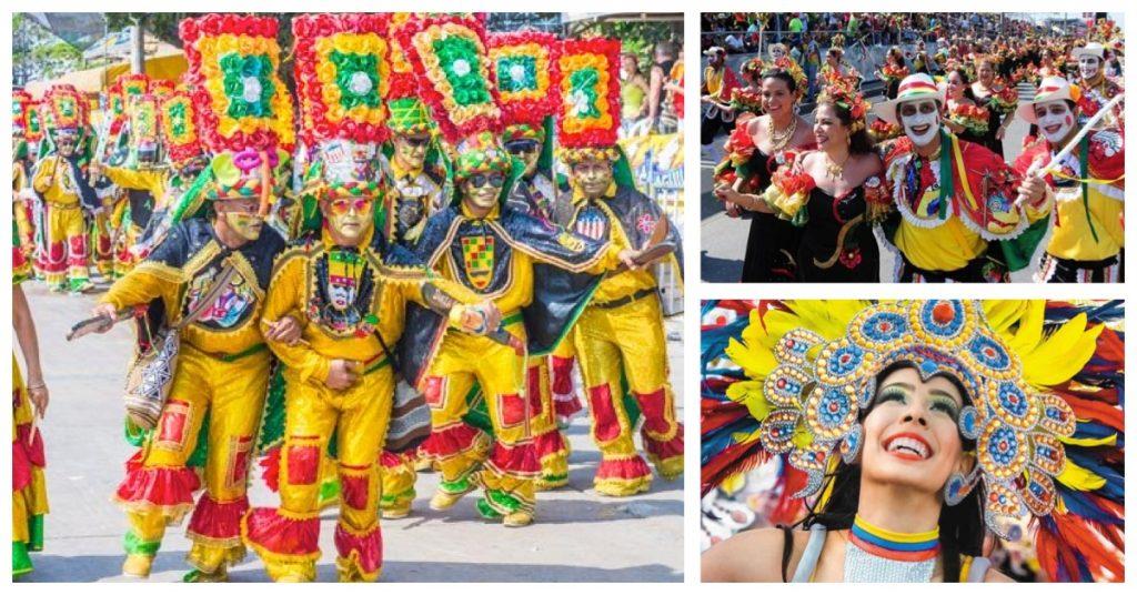 Colombia y sus fiestas en Barranquilla