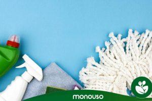 Consejos para limpiar los útiles de limpieza