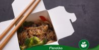 Contenedor ecológico de comida cantonesa