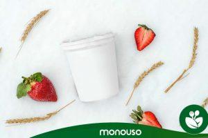 ¿Cuál es la capacidad de un envase de yogur?