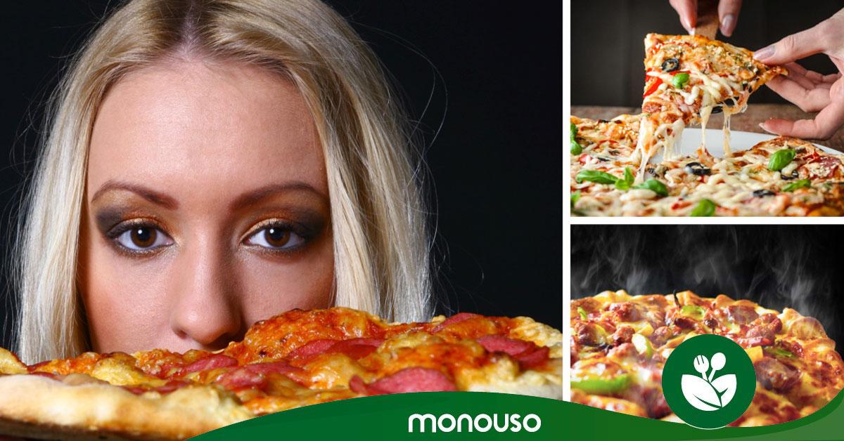 Cuántas calorías tiene la pizza más divina