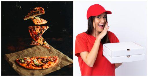 Cuántas calorías tiene una pizza de comida rápida