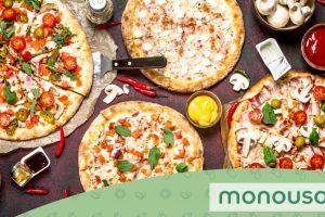 De que tamanho é a maior pizza do mundo?