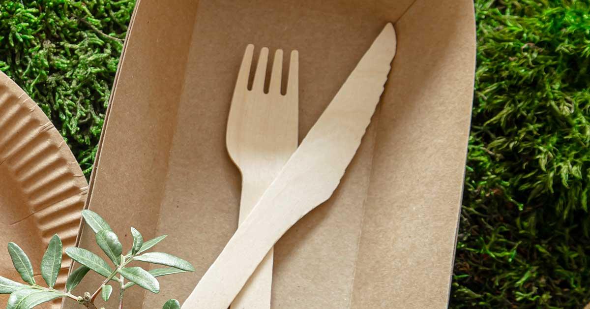 Cubiertos ECO de bambú