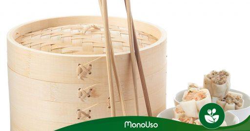 Cuidados de vaporera de bambú