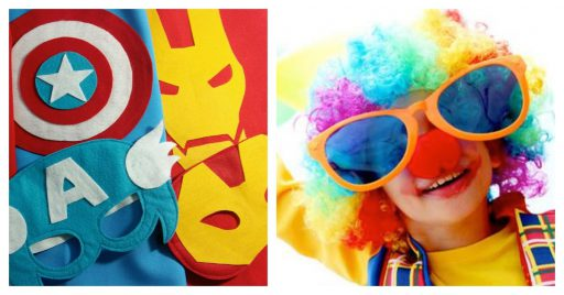 Decoración para fiesta de carnaval infantil