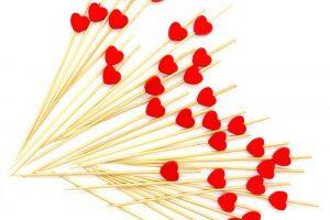 Decoración de mesa especial San Valentín