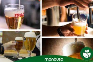 Descubre cómo tirar una buena caña de cerveza