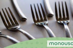 Tipos de tenedores: usos y protocolo de colocación
