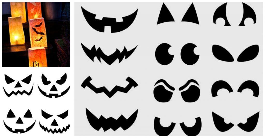 Dibuja tus bolsas de Halloween