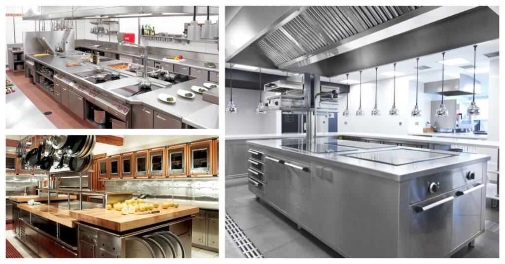 Diseñar cocinas de restaurante: puntos básicos