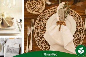 Doblar servilletas para boda: Fácil y rápido