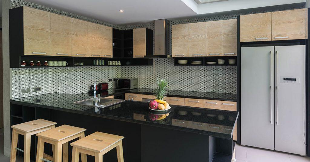 El granito en el diseño de cocina